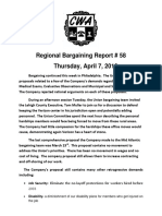 MidAtlantic Regional Bargaining Report #58