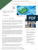 WhatsApp  Los Cambios en La Aplicación - Novedades Tecnología - ELTIEMPO