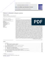 Polymeric Surfactants in Disperse System