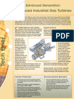 Advanced Industrial Gas Turbines