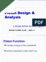 Piston Design and analysis
