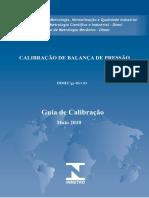 Calibração de Balança de Pressão