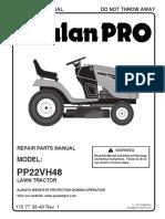 Poulan Pro PP22VH48