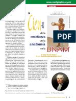 Enseñanza de La Anatomía UNAM