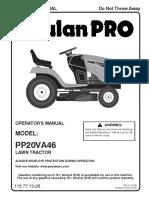 Poulan Pro PP20VA46
