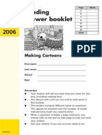 Year 7 Optional 2006 English Reading Answer Booklet