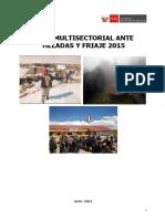 Plan Multisectorial Ante Heladas y Friaje 2015 10.06.2015