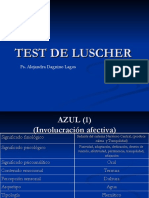 Test de Luscher Test de Luscher