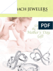 Schubach Jewelers 2010 Mother's Day Catalog