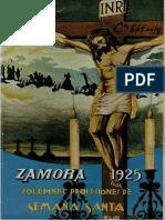 SemanaSanta en Zamora 1925