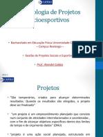 Aula Graduação Metodologia de Projetos Socioesportivos