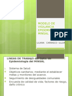 Modelo de Vigilancia Epidemiologica Minsal 2013