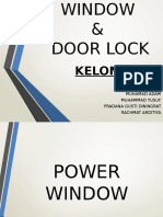 Power Window & Door Lock Kel. 4-1