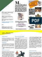 Folheto de Visita Cultural a Cantanhede Dia 8 de Maio de 2010
