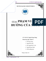 [123doc.vn] Phan Tich Chinh Sach Thue Pham Vi Anh Huong Cua Thue
