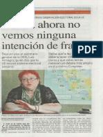 Entrevista a Renate Weber en el diario Expreso