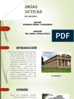 TECNOLOGÍAS CONSTRUCTIVAS