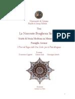 Capitolo I a - Scritti in Memoria Della Famiglia Aronne - La Nascente Borghesia Siciliana, La Famiglia Aronne Tra Regno Borbonico Ed Unità d'Italia