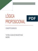 LÓGICA+PROPOSICIONAL