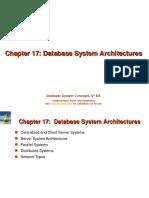 Unit-9 DBS Architecture