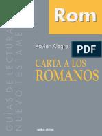 Carta a Los Romanos