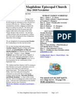 MAY Newsletter 2010