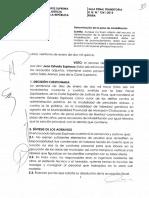 Sala Penal Transitoria R.N.N.º 1261-2013 Piura