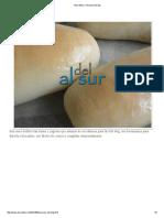 Alsurdelsur_ Pan Para Hot Dog