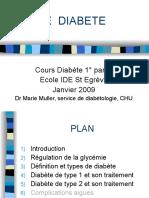 Cours Diabete 1