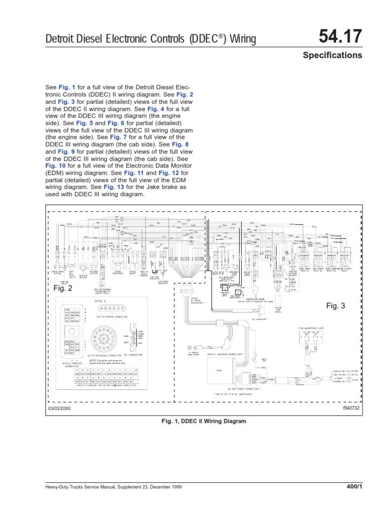 [NRIO_4796]   2011-12 Detroit DDEC-II Wiring | Ddec 2 Wiring Diagram |  | Scribd