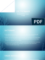 Dictionary C#