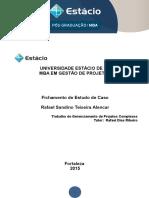Fichamento(Gerenciamento de Projetos Complexos)