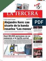 Diario La Tercera 08.04.2016