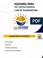 Curso on Line de Telemarketing Elg Asesores 2016