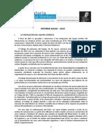 Informe Anual2015 del Observatorio Luz Ibarburu