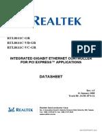 RTL8111C Data Sheet