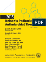 Nelson's Pediatric Antimicrobial Therapy-American Academy of Pediatrics - 2015