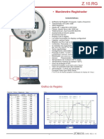 Z.10.RG Manometer Register Manometro Digitar Registrador
