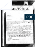 Letters from Prisoners at Otisville Correctional Facility to President Obama