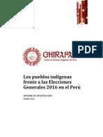 Informe de Investigación Elecciones 2016