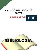 Estudo Bíblico – 1ª Parte