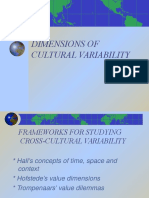 Cultural Variability