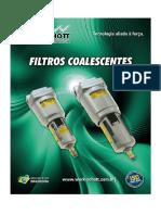 Filtro Coalescentes Serie - Samg e Samh