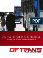 Carta de Serviços Atualizada DFTRANS