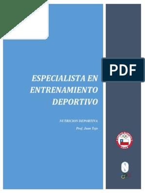 manual de nutricion deportiva arasa pdf