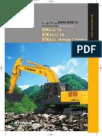 R250LC-7A Folleto (Es)