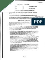Meechaiel Criner Affidavit