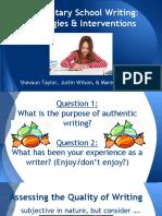 writing rti presentation