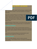Análisis PESTEL de España