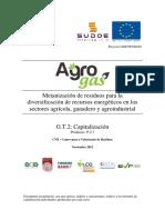 Metanización de Residuos Para La Diversificación de Recursos Energéticos en Los Sectores Agrícola, Ganadero y Agroindustrial